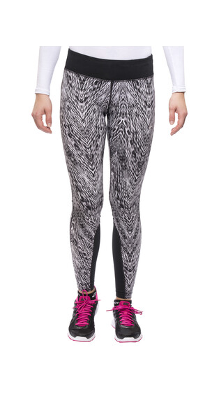 Nike Epic Printed Run Tight Women black/mslvr